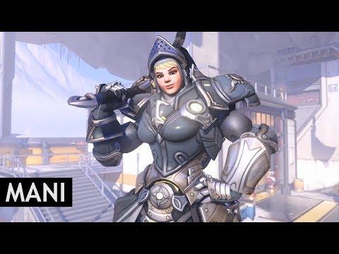 Overwatch: Brigitte All Skins In-Game