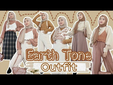 EARTH TONE OUTFIT | CAKEP BANGET!!! - YouTube