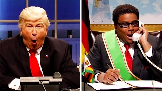 Trump on SNL: Mugabe Is NOT Playing Trump's Phone Games