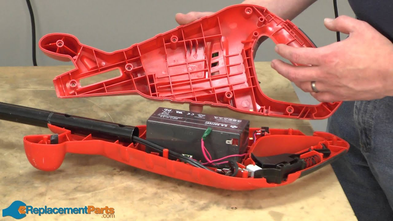 How to Replace the Switch on a Black and Decker CST1200 String Trimmer  (Part # 90552860)