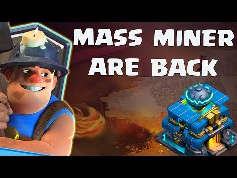 MASS MINER ARE BACK Smashing TH12   Mass Miner Strategies