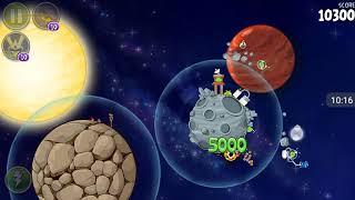 Прохождение Angry Birds Space #14 [Солнечная Система]{полностью}