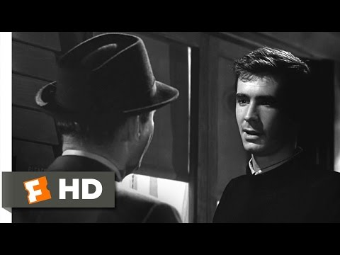 Psycho (9/12) Movie CLIP - I'm Not Capable of Being Fooled (1960) HD
