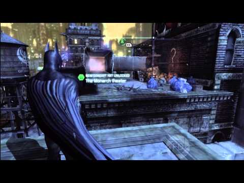Batman Arkham City: Riddler Trophies and Solutions, Park Row