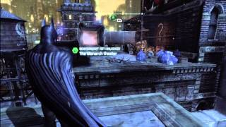 Batman Arkham City: Riddler Trophies and Solutions, Park Row