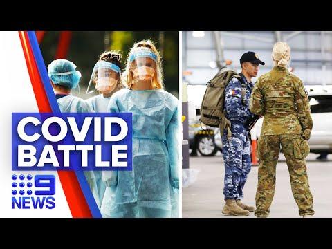 Coronavirus: Victorian death toll rises as cases surge | 9 News Australia