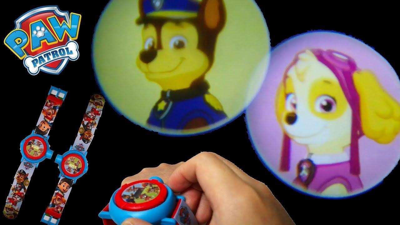 PAW PATROL children/'s cartoon 8 projection children/'s toys camera child gift