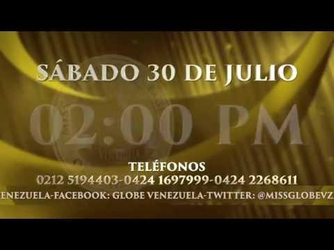 SEGUNDO GRAN CASTING NACIONAL MISS GLOBE VENEZUELA 2016