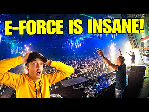 MY FIRST TIME LISTENING TO E-FORCE! (ONE OF THE BEST SETS EVER)
