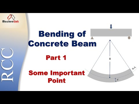 Bending of Concrete Beam Part 1 (Hindi) Reinforced Cement Concrete (IS 456:2000)