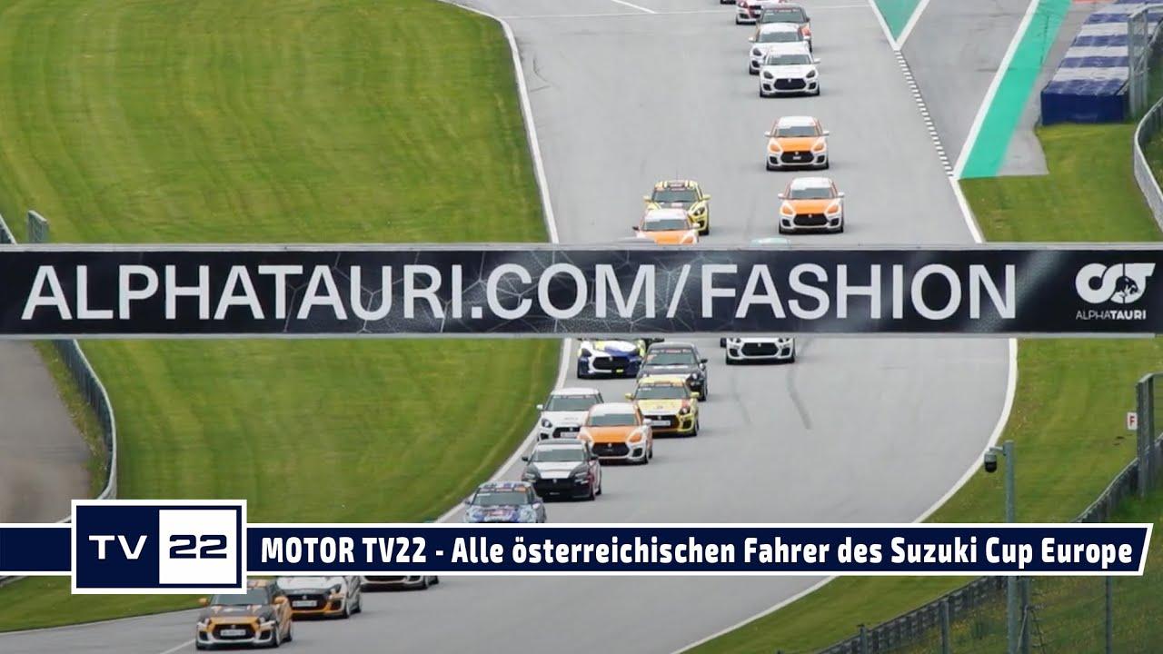 MOTOR TV22: Alle Interviews mit den österreichischen Fahrern des Suzuki Cup Europe am Red Bull Ring