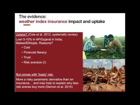 Insuring against humanitarian disasters: Will it work?