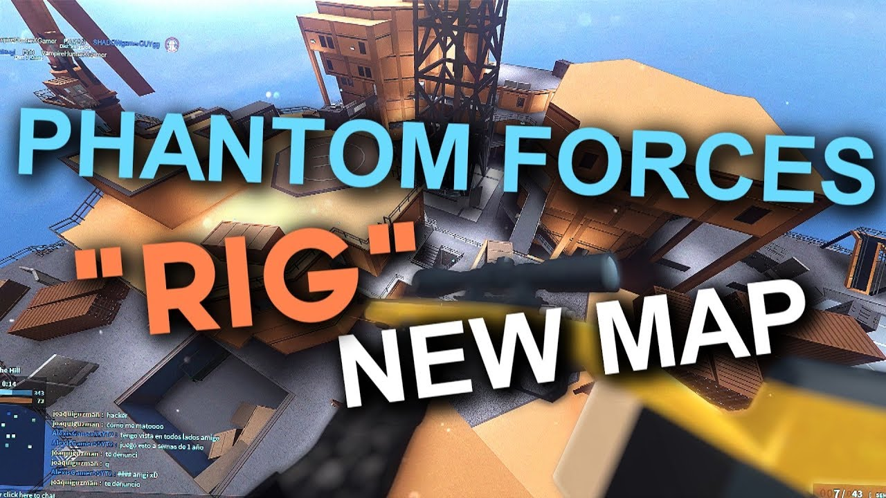 New Rig Map In Phantom Forces Roblox Youtube