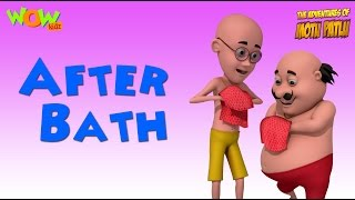 After Bath - Motu Patlu Rhymes in English - Available Worldwide!