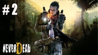 Russian Let's Play - NeverDead # 2
