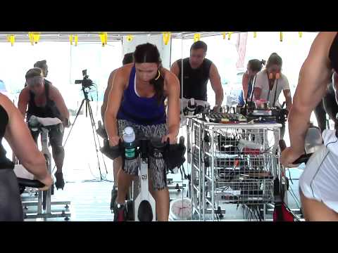 Free Full Hour Online Spin® Class Video with Cat Kom from Studio SWEAT onDemand-Part 1