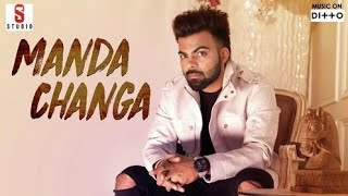 Manda changa bol song //by SARTHI k//new punjabi song