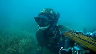 zıpkınla balık avı - karadeniz-3 (tr altyazı) blacksea - ünye