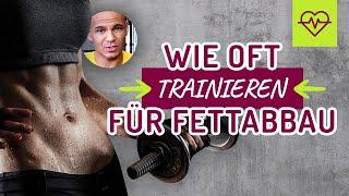🤔 Wie oft trainieren für FETTABBAU❓Ist jeden Tag Training zu viel ❓Die WAHRHEIT ‼️