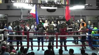 Bayombong Thrilla (Boxing 2018 Main Even) Philippines VS China