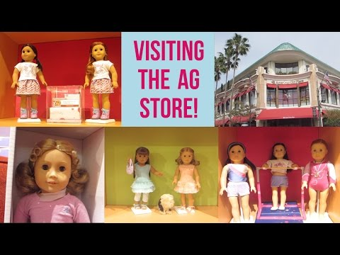 Visiting The AG Store!