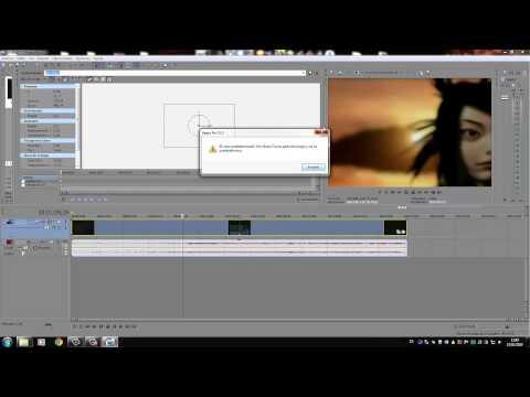 Creating XMV with Sony Vegas