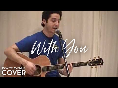 Chris Brown — With You (Boyce Avenue acoustic cover) on Spotify & Apple