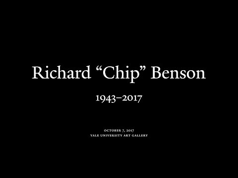 "Memorial for Richard ""Chip"" Benson"