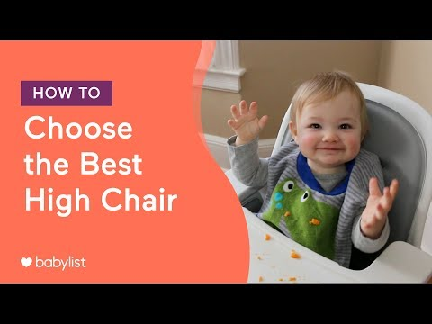 How To Choose The Best High Chair | Ft. Stokke, OXO, Joovy, Inglesina - Babylist