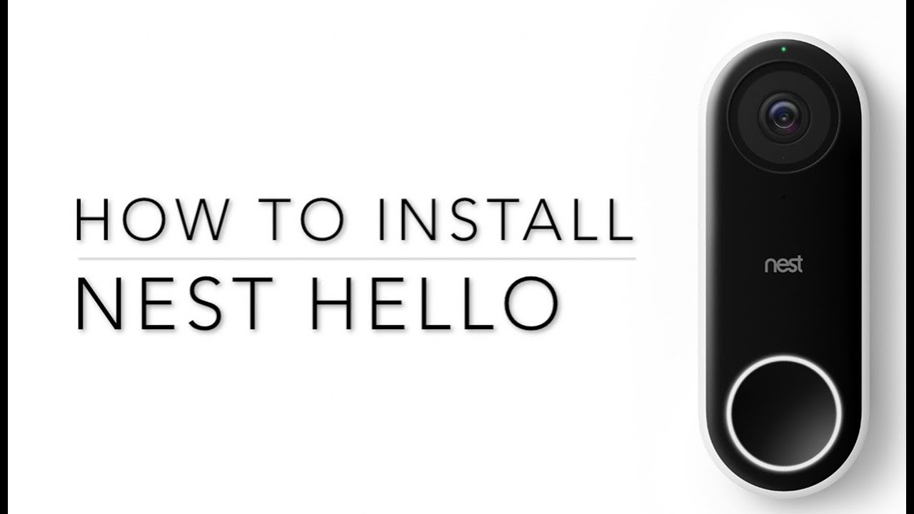 The easy way to install a Nest o using an existing doorbell Wiring Nest Doorbell on