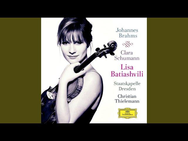 Clara Schumann: 3 Romances for Violin and Piano, Op. 22 - 1. Andante molto