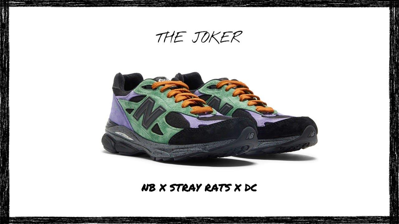Stray Rats x New Balance x DC: 990v3