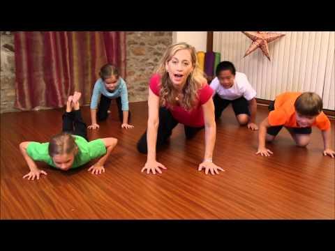 Fireflies: Musical Yoga for Kids | Gratitiude