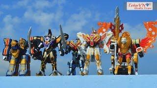 All DX Gattai Mahou Sentai Magiranger 2005! DX 魔法戦隊マジレンジャー! Power Rangers Mystic Force!