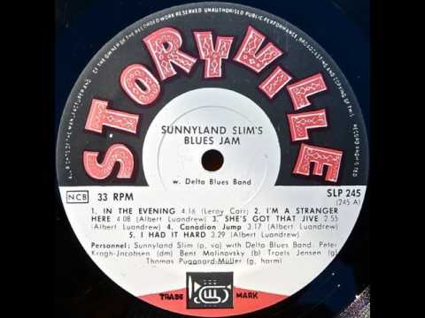 Sunnyland Slim With Delta Blues Band – Sunnyland Slim's Blues Jam With Delta Blues Band