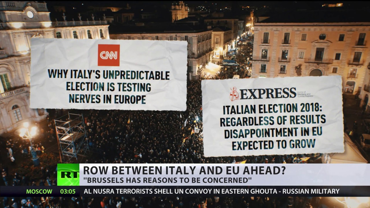 Centre-right coalition predicted to lead Italy's next parliament