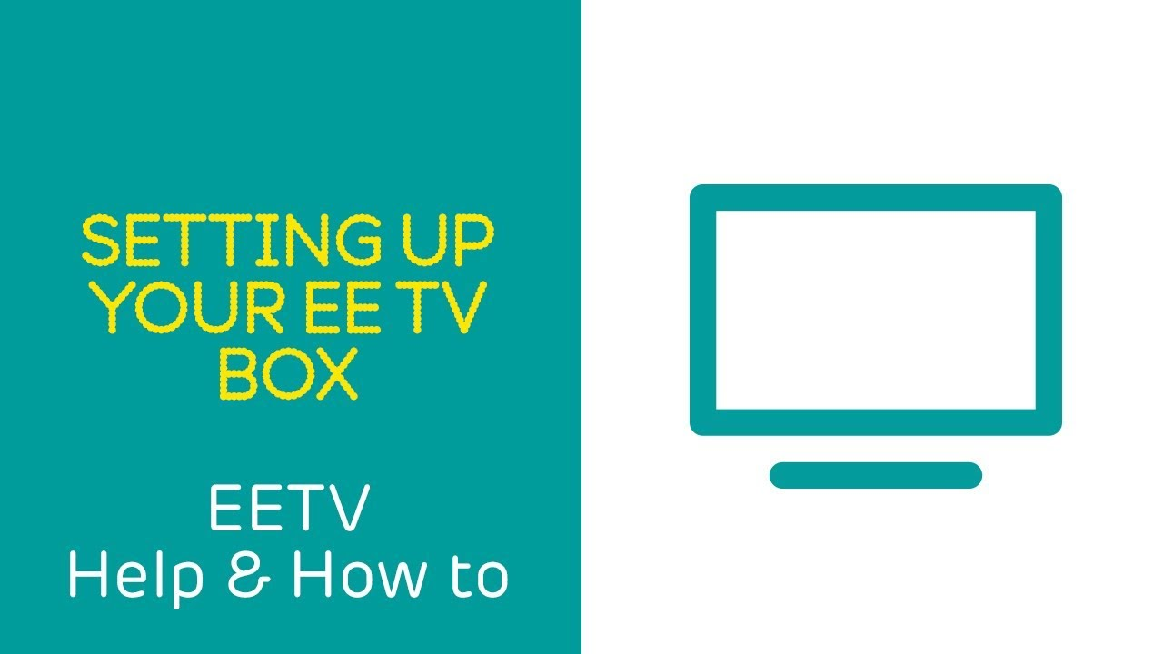Ee Tv Help How To Setting Up Your Box Youtube Coaxle Cable Wiring Diagram Http Wwwdoityourselfcom Forum