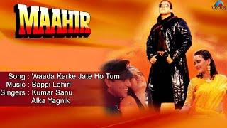 Maahir : Waada Karke Jate Ho Tum Full Audio Song | Govinda, Hema Malini, Farha Naaz |