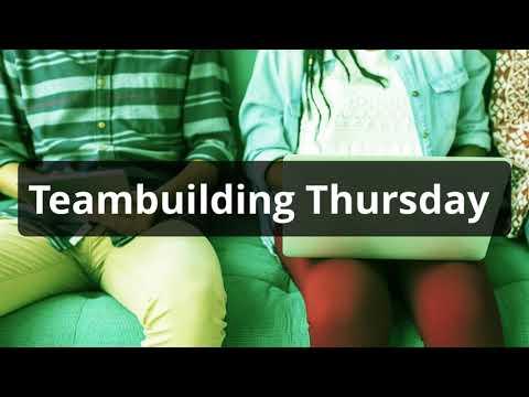 Team building thursday...