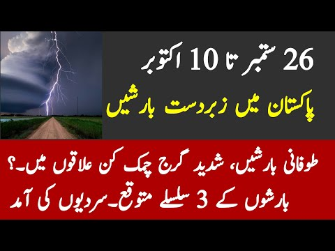Tomorrow Weather Forecast 24 September |Today Weather| |Pakistan Weather Forecast| Karachi Weather |