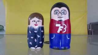 nesting dolls made in our image pregnancy announcement
