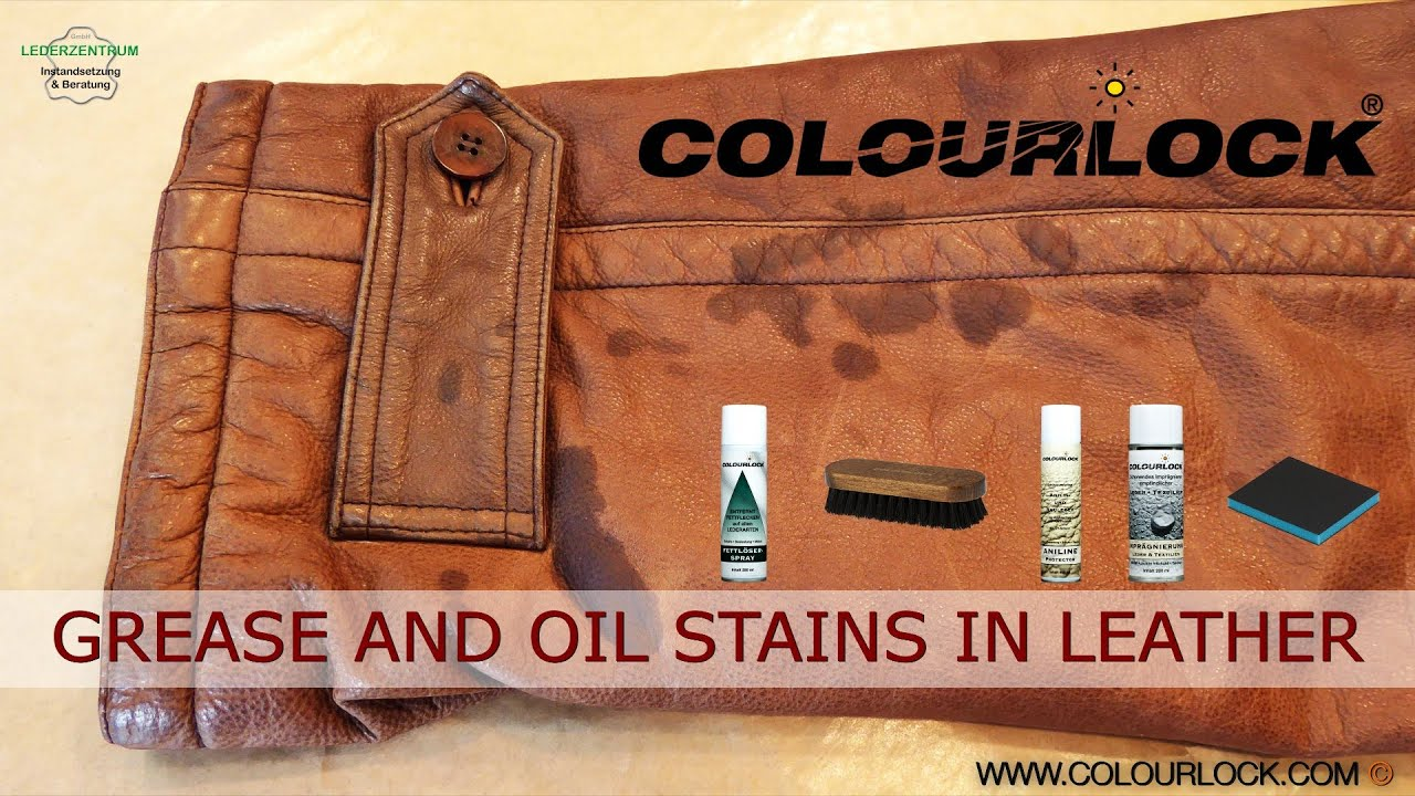How To Remove Hair Dye Stain From Leather Sofa Velvet Gray Grease Stains And Oil In Youtube