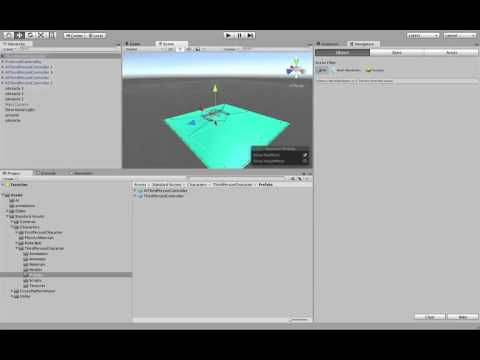 Unity 5: Creating intelligent NPC characters that follow the player and avoid obstacles