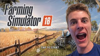 Farming Simulator 16 iOS Gameplay!