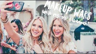 Makeup Wars with my sister, Savannah Labrant