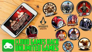 PLAY UNLIMITED GAMES ON CLOUD GAMES MOD APK ON YOUR ANDROID DEVICE FOR FREE
