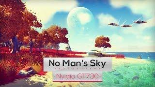 No Man's Sky on Intel Core 2 Quad Q8400 & Nvidia GT730