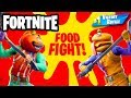 Food Fight! Mounted Turret! - Fortnite - Gameplay Part 59