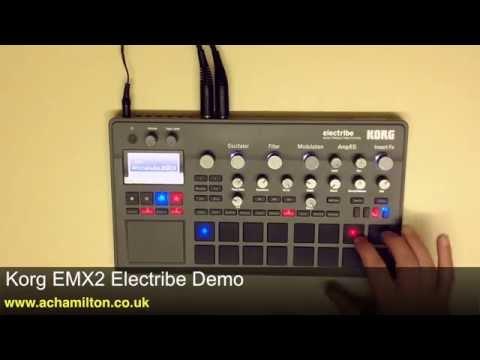 Korg Electribe EMX2 Demo With Luke Edwards At A&C Hamilton