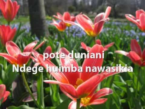 Bwana Mungu Nashangaa Kabisa How Great Thou Art - Swahili